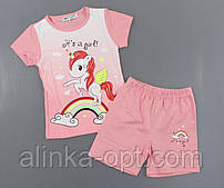 Піжама для дівчаток Setty Koop, 1-5 років. Артикул: PJM112-пудра