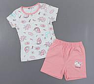 Піжама для дівчаток Setty Koop, 98-122 рр. Артикул: PJM113-сірий