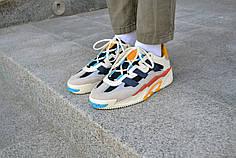 Кроссовки мужские Adidas NiteBall Biege Адидас Найтбол бежевые Реплика