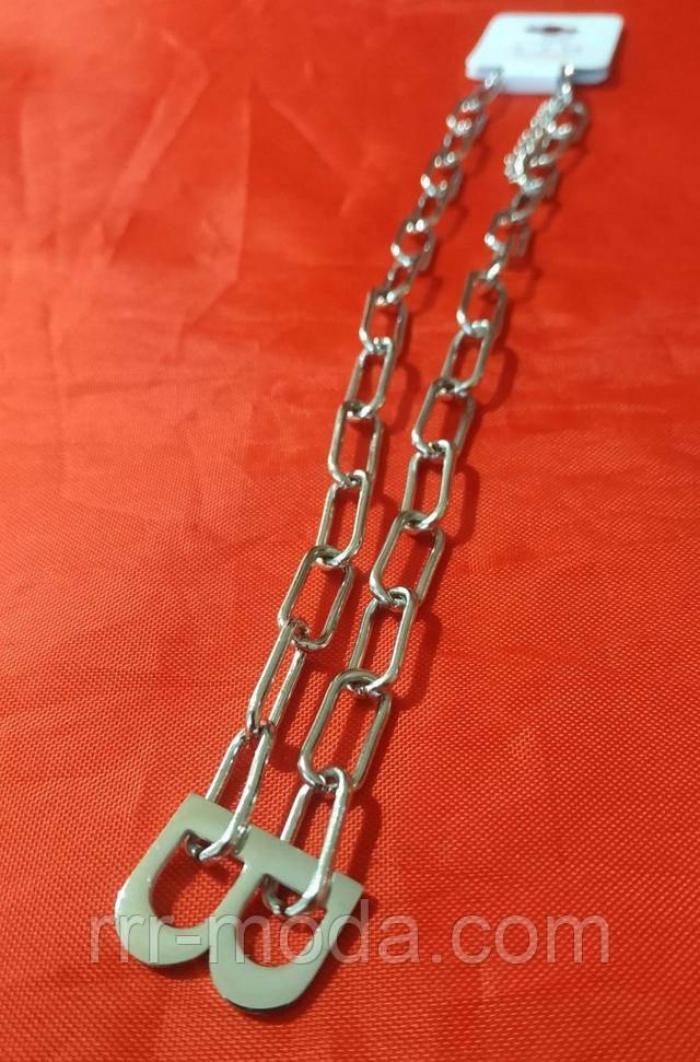 Престижная позолоченная цепь жгут. Ювелирные позолоченные украшения оптом.