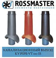ROSSMASTER KV Вихід каналізаційний Pipe-VT 110is ізольований, фото 1