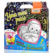 Набор для детского творчества Сумка раскраска Котёнок