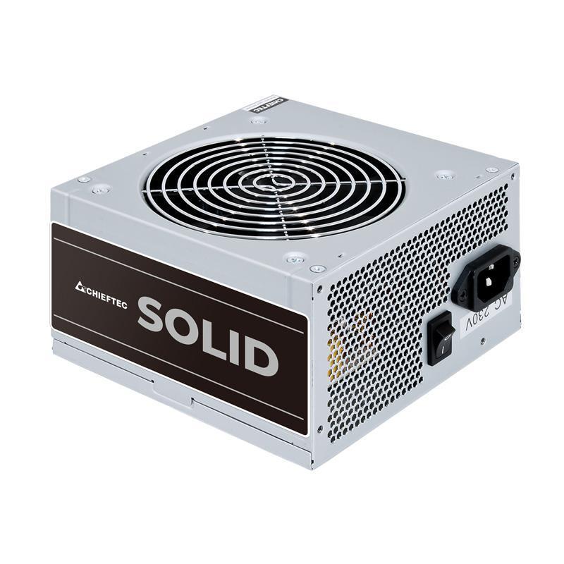 Блок питания Chieftec GPP-600S, ATX, APFC, 12cm fan, КПД >85%, bulk