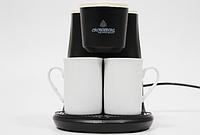 Кофеварка капельная с двумя чашками CB-1568 Crownberg, 500 Вт
