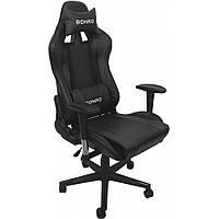 Кресло геймерское Bonro 2011-А Черное игровое компьютерное кресло професійне геймерське крісло