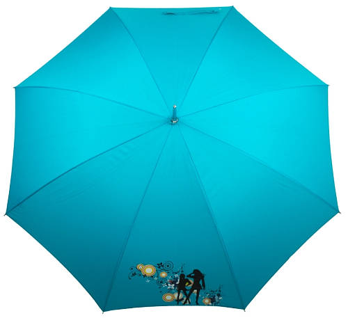 Яркий зонт-трость женский полуавтомат AIRTON (АЭРТОН) Z1627-2