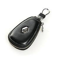 Авто-ключница кожа F633  Renault.Купить оптом и в розницу кожаные ключницы.