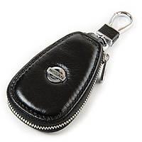 Авто-ключница кожа F633  Nissan.Купить оптом и в розницу кожаные ключницы.