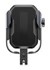 Вело-мото держатель для телефона Baseus Armor Motorcycle holder Черный (SUKJA-01), фото 2