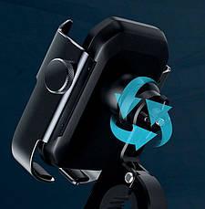 Вело-мото держатель для телефона Baseus Armor Motorcycle holder Черный (SUKJA-01), фото 3