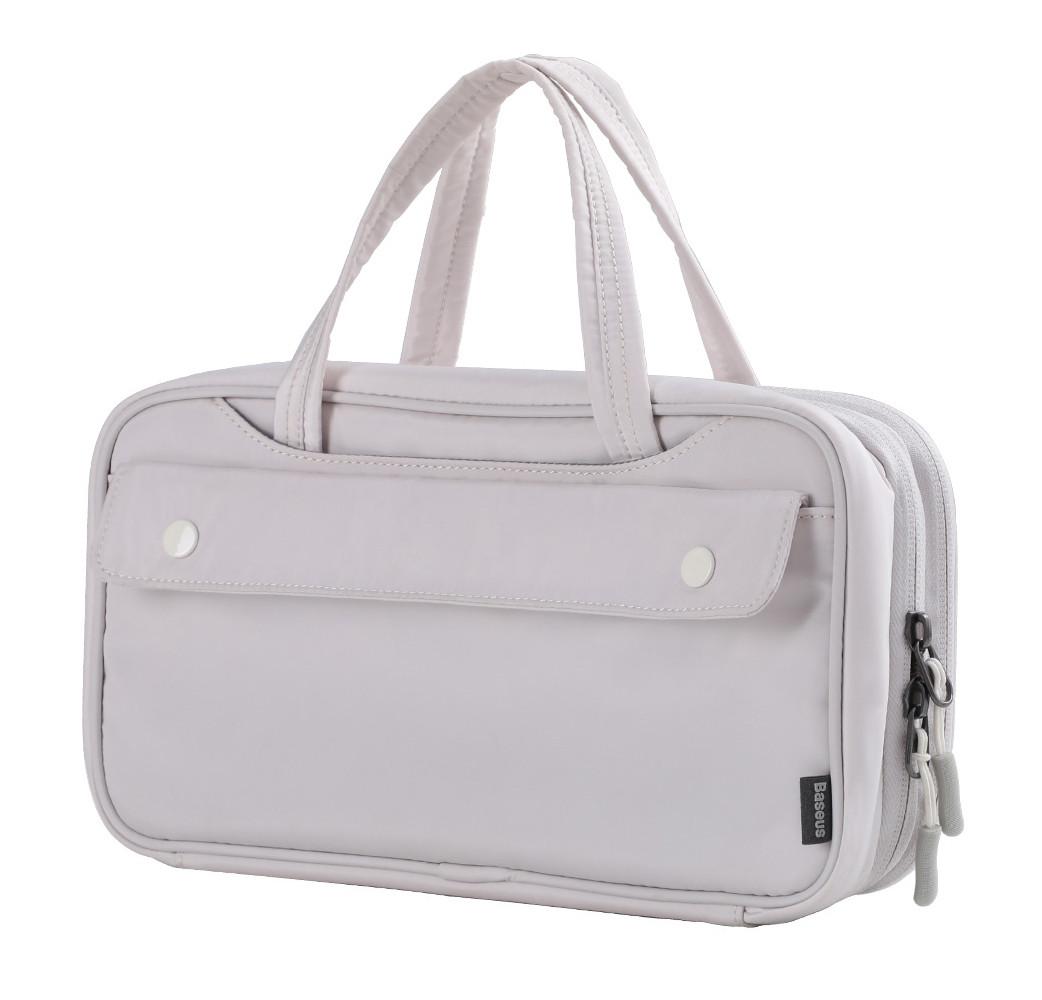 Ручная сумка-органайзер Baseus Track Series Switch Storage Bag Слоновая кость (LBGD-A02)