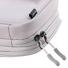 Ручная сумка-органайзер Baseus Track Series Switch Storage Bag Слоновая кость (LBGD-A02), фото 3