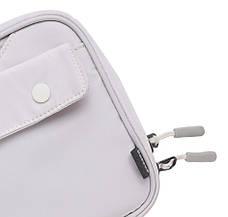 Ручная сумка-органайзер Baseus Track Series Switch Storage Bag Слоновая кость (LBGD-A02), фото 2
