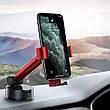 Держатель (автодержатель) для телефона в машину Baseus Simplism Gravity Красный / Черный (SUYL-JY09), фото 5