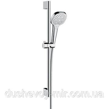 HANSGROHE Croma Select E Multi Душевой набор 0,65 м, белый/хром 26580400