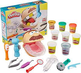 Набор пластилина Мистер зубастик Дантист Play-Doh Drill 'n Fill Dentist Новинка! F1259