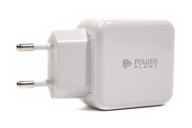 Мережевий зарядний пристрій PowerPlant W-250 (1USBx3A) QC3.0 White (SC230013)