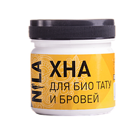 Хна для бровей и био тату Nila(черная) 50гр