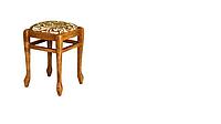 Табурет дерев'яний на ніжках Юлія / Askalon (АШКЕЛОН), фото 1