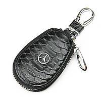 Авто-ключница кожа F625 Mersedes.Купить оптом и в розницу кожаные ключницы.