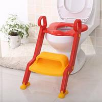 Детское сиденье на унитаз со ступенькой и ручками Keter Toilet Trainer