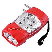 Фонарь YAJIA(фонарь ручной аккумуляторный) YJ-7588, 3+6LED