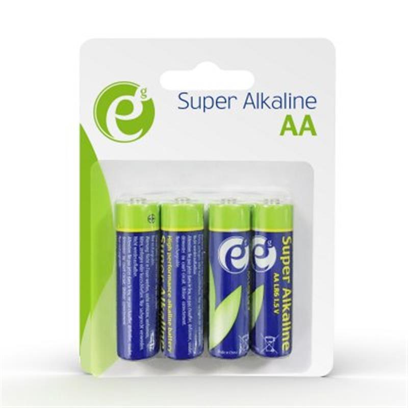 Батарейка EnerGenie Super Alkaline AA/LR06 BL 4 шт
