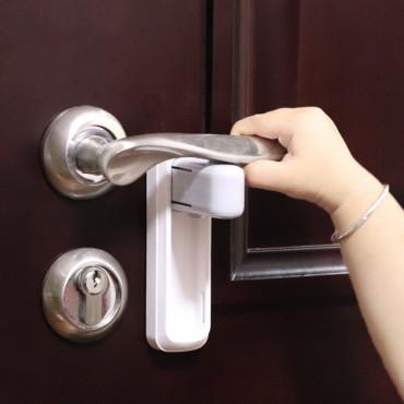 Блокиратор дверной ручки EUDEMON B3205 (белый)