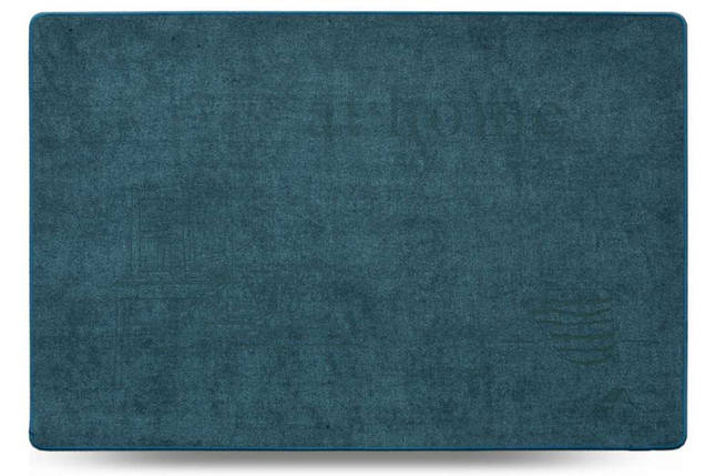 Коврик универсальный Dariana Шерсть At Home D-6873 45x75 см синий, фото 2