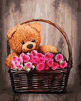 """Картина по номерам, рисование по номерам цветы """"Подарок для любимой"""" GX31602-RA"""