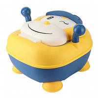 Детский горшок Обезьяна Babyhood BH-205 (желто-синий)