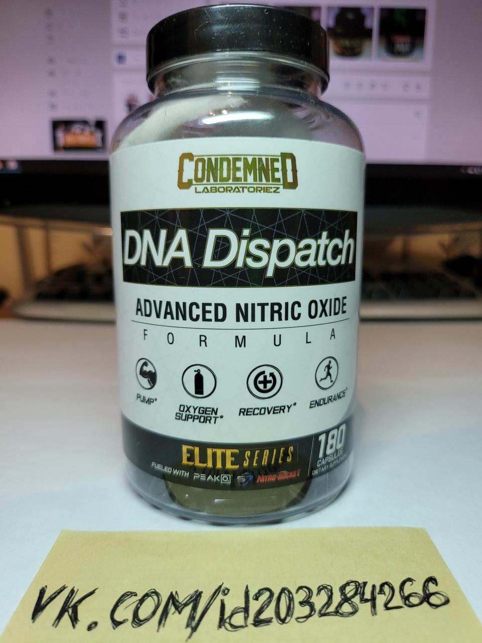 Предтренировочный комплекс Condemned Labz DNA Dispatch 180 tabl нитрикс