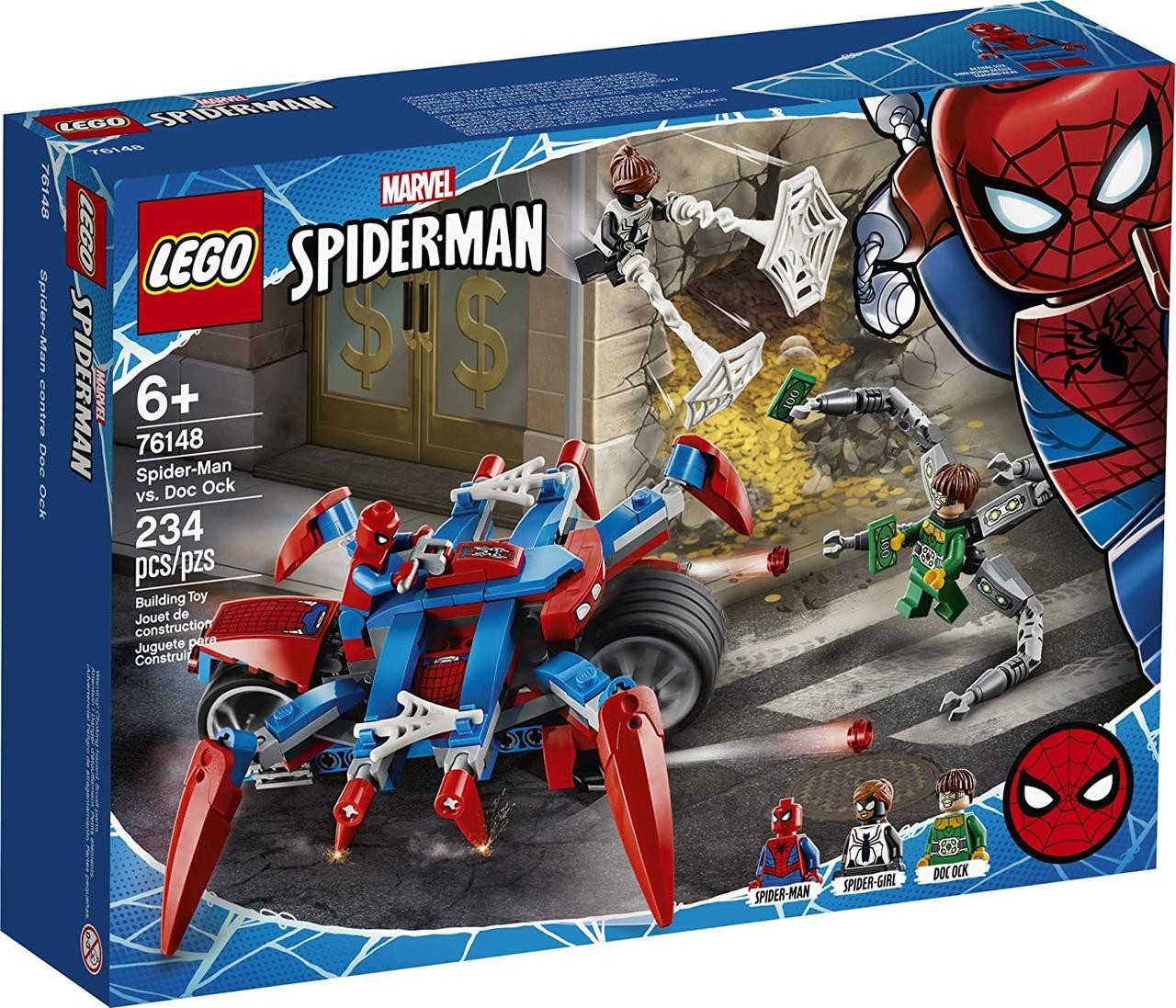 Конструктор LEGO Super Heroes 76148 Marvel Comics Людина-Павук проти Доктора Восьминога.