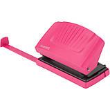 """Діркопробивач AXENT """"Shell"""" 10л., пластиковий, рожевий, фото 2"""