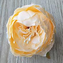 Півонія штучний 8-10 см см колір шампань (головка без листя) - 18 грн