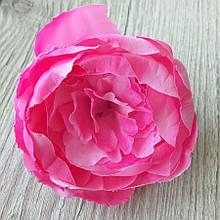 Півонія штучний 8-10 см см колір малиновий (головка без листя) - 18 грн