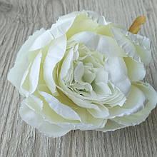 Півонія штучний 8-10 см см колір білий (головка без листя) - 18 грн