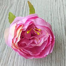 Півонія штучний 8-10 см см колір чайна троянда (головка без листя) - 18 грн