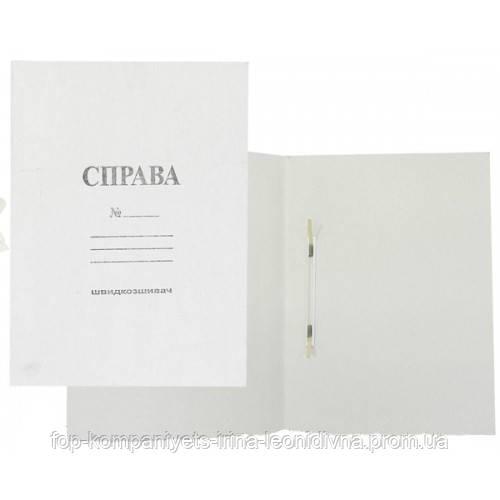 Скоросшиватель картонный 0,3мм, Украина (50шт/уп)