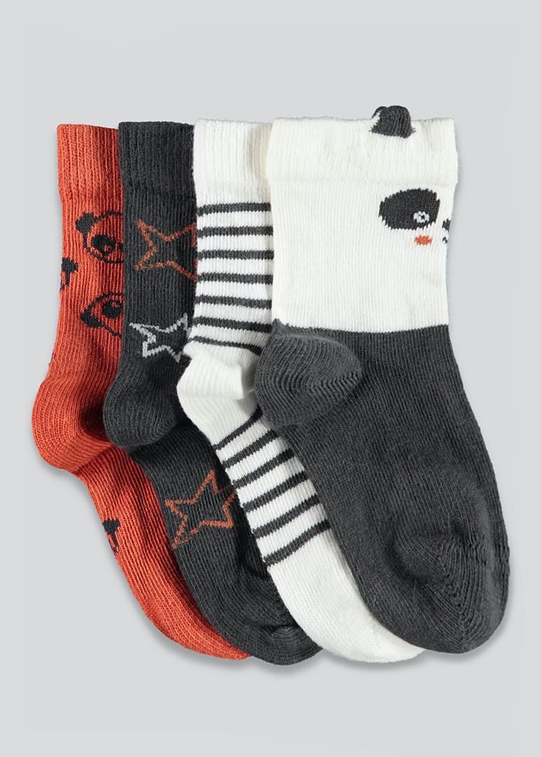 Набір якісних шкарпеток - 4 пари для малюків Маталан