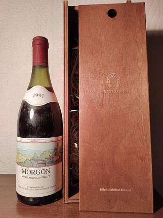 Вино 1991 года Morgon Франция, фото 2