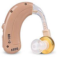 Заушный слуховой аппарат AXON C-109 усилитель слуха с зарядкой и аккумулятором