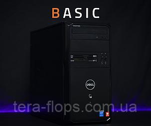 Комп'ютер для дому Dell Vostro Basic (Intel Core i3 / DDR3 4GB / HDD 500GB) / Гарантія / TeraFlops, фото 2