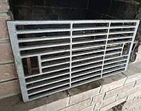 Чугунная решетка гриль BBQ 560*295 мм для мангалов из газовых баллонов