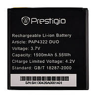 Аккумулятор к телефону Prestigio PAP4322 1500mAh