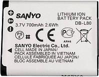 Аккумулятор Sanyo DB-L80, Li-ion, 900 mAh (BDS2638)