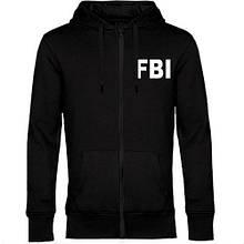 Чоловіча толстовка на блискавці FBI (ФБР)