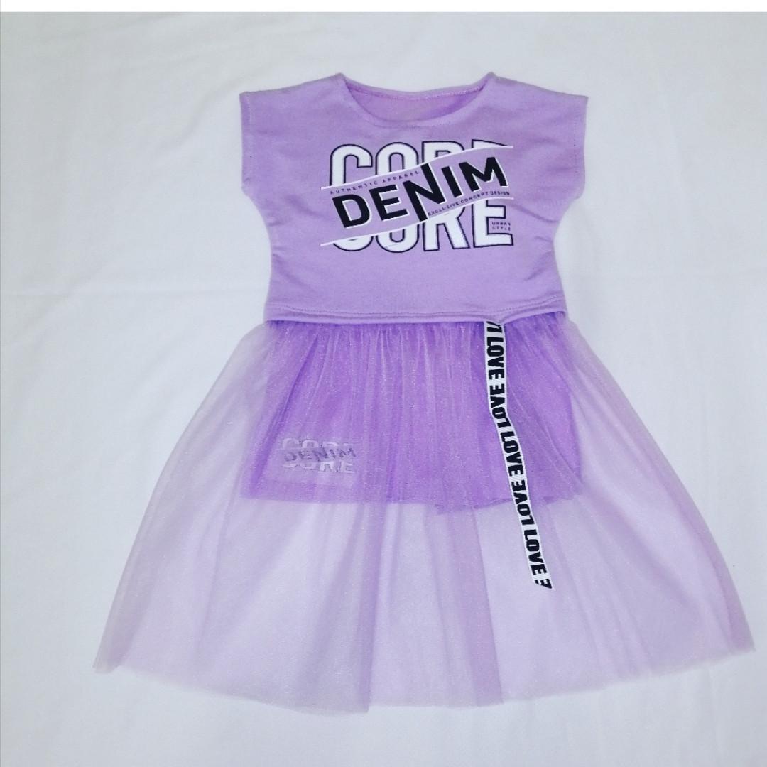 Нарядное модное платье для девочки