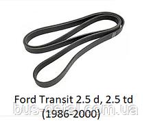 Ремень генератора Ford Transit 2.5 d, 2.5 td 1986-2000, ремень генератора Форд Транзит, 4PK1488