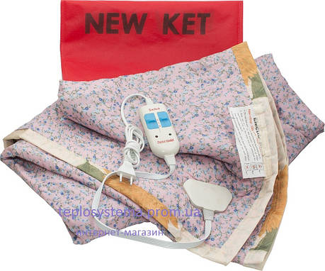 Согревающая простынь KET ELECTRIC, 2-х спальный (155 х 170 см) вискоза, Турция, фото 2